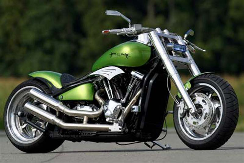 Kawasaki Mean Streak Custom Parts
